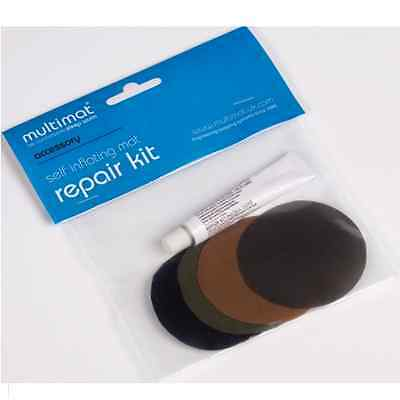 MULTIMAT SELF INFLATING AIRBED REPAIR KIT. Patches glue for air mattress
