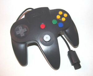 Official-N64-Controller-Black-Nintendo-64-Remote-Genuine-OEM-Tight-Stick-Gamepad