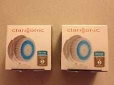 2 DEEP PORE Brush Heads For Clarisonic MIA & MIA2 PRO PLUS Replacement Head -NEW
