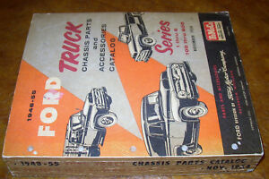 Image Is Loading 1953 1954 1955 Ford Truck Chis Body Parts