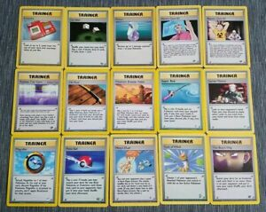 Pokemon 15 Card Random LOT Vintage WOTC