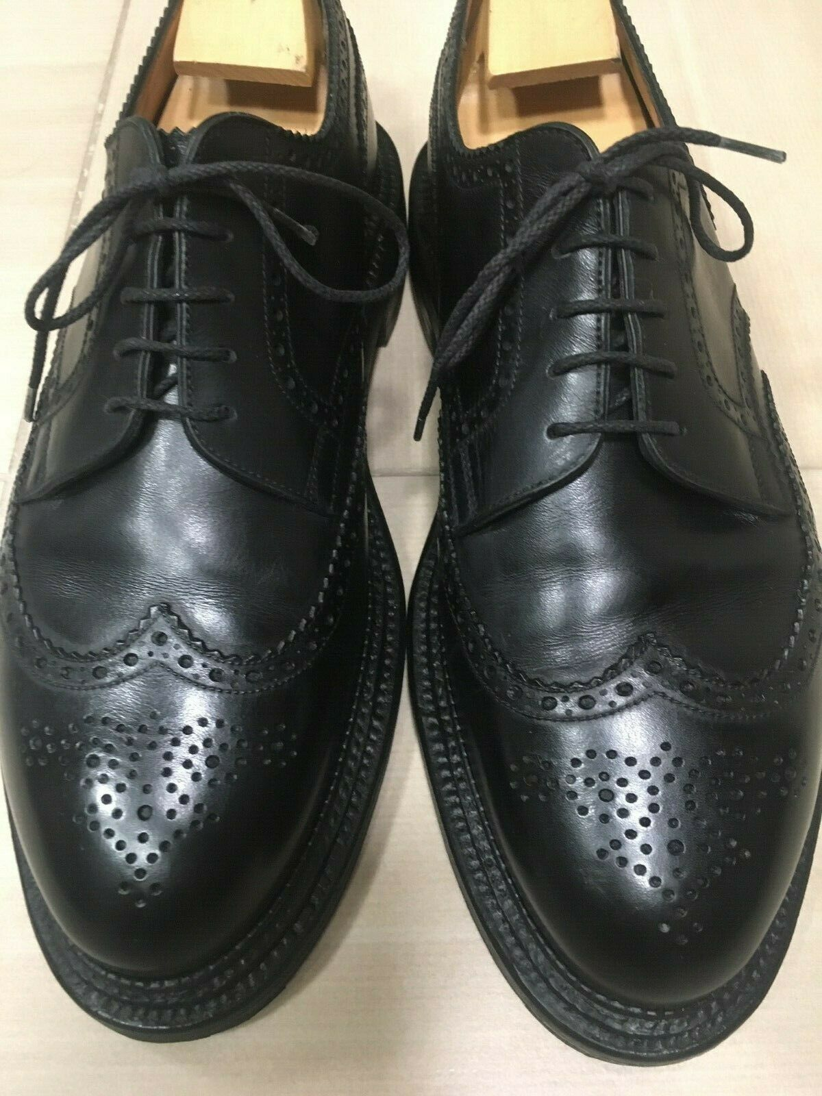 J.M. Weston Triple Derby Suela Zapatos 9 E