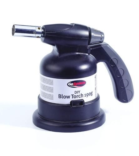 GoSystem 190g DIY Blow Lamp BLOW TORCH PLUMBING DECORATING RAPID WARM UP QUALITY