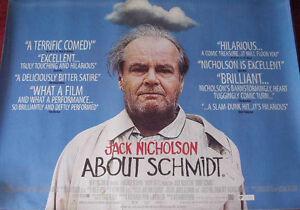 Cinema-Poster-ABOUT-SCHMIDT-2002-Quad-Jack-Nicholson-Kathy-Bates