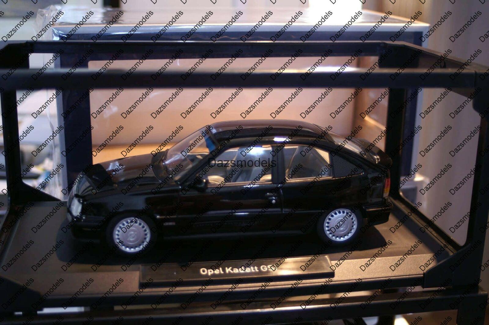 Norev Opel Kadett E GSI Astra nero 183612 1 18