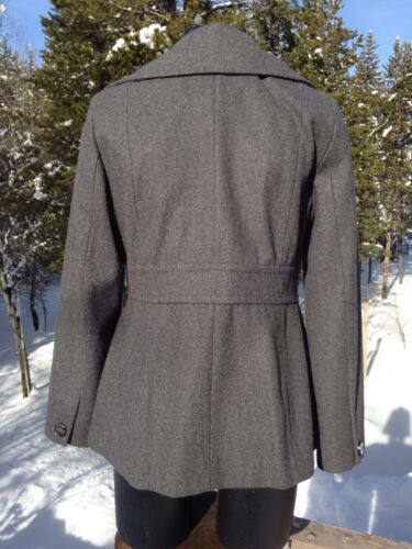 Kvinder Cole New Charcoal Peacoat Blend York Grey Størrelse 12 Uld Kenneth dqtw5gq