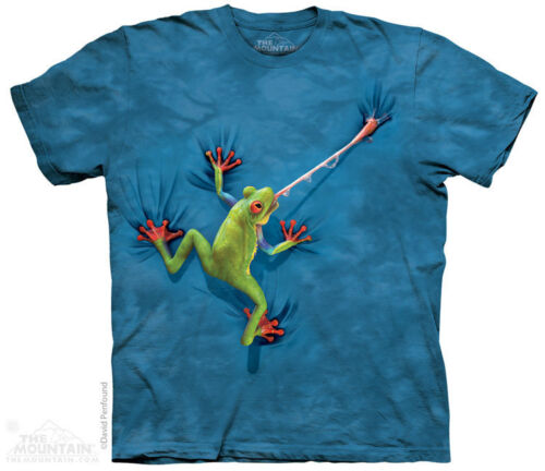 Tailless Amphibian Anura Sizes S-5XL NEW Frog Tongue T-Shirt by The Mountain