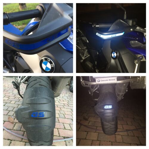 REFLECTIVE BMW GS STICKERS HAND GUARDS ANTERIOR FENDER The1200stickerS