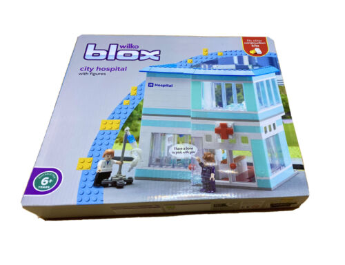 Figures Lego Compatable Building BlocksBRAND NEW WILKO BLOX CITY HOSPITAL