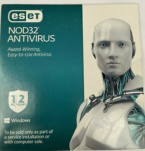 ESET NOD32 ANTIVIRUS 2021 | 2 YEAR | 1 PC | LICENSE KEY ...