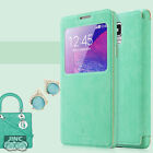 S-VIEW/SVIEW Book Case Cover Pouch for Samsung SM-N910I Galaxy Note4/Note 4