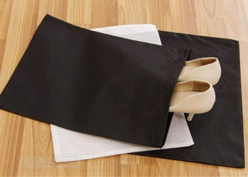 10Pcs Non-woven Shoes Storage Bag Outdoor Drawstring Dust Organza Storage Bags