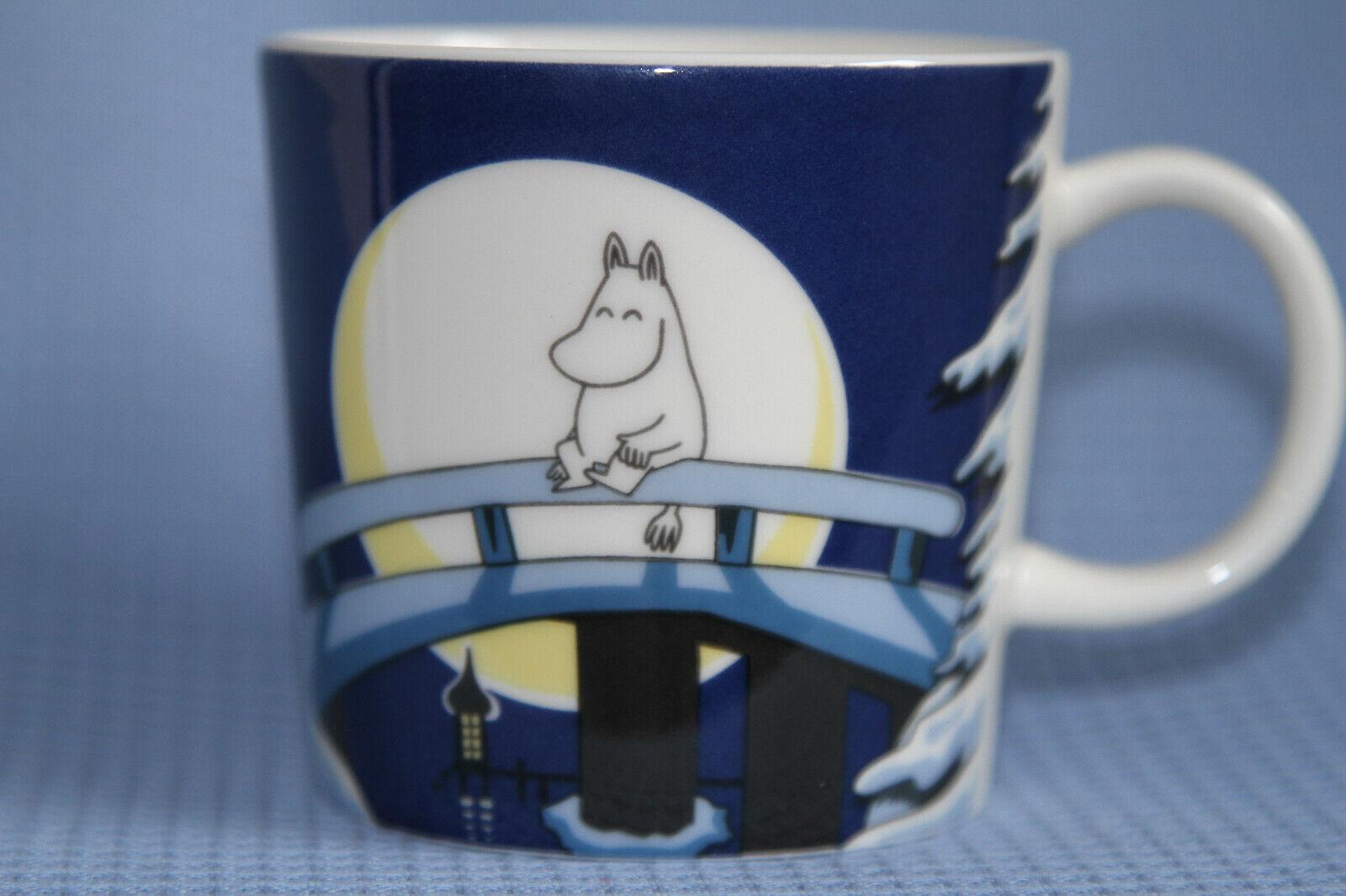 Arabia Moomin Mug   Winter night  2006