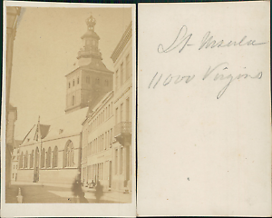 Chargement De Limage En Cours Allemagne Cologne Eglise Sainte Ursule Vintage CDV Albumen