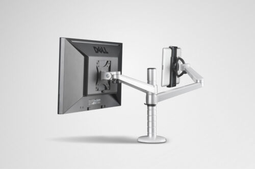 """mount//holder -27/"""" 2 in 1 360º rotate height adjust Tablet// iPAD Pro /& Monitor"""
