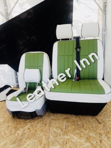 Vw Transporter T5 Seat Covers 3 Seater front row
