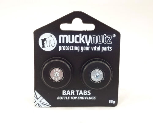 Mucky Nutz Bar Tabs Draught Customise Expander Bike Handlebar Ends//Plugs 17mm Up