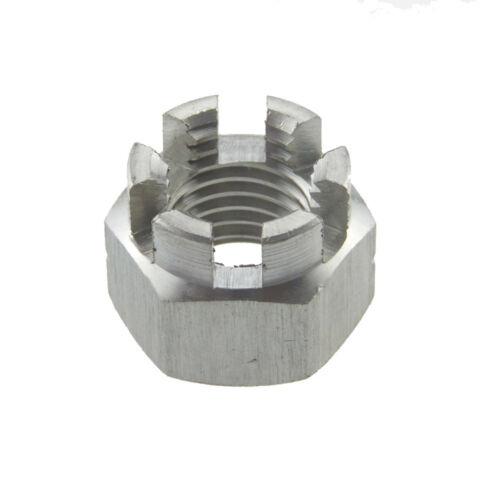 Kronenmuttern DIN 935-1 Edelstahl A2