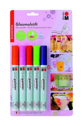 Marabu Glas Painter Glass Painting Markers