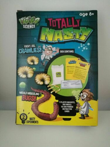Kids Weird Science Totally Nasty Age 8 Years + Activity Set Kit