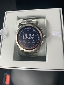 Details about Michael Kors Access Smartwatch Grayson Stainless Steel MKT5025 NEW