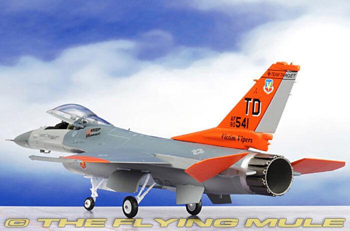 1 72 Witty QF -16 VIPER F -16 Fighter plan militär- tärningskast flygagagplan modelllllerlerl