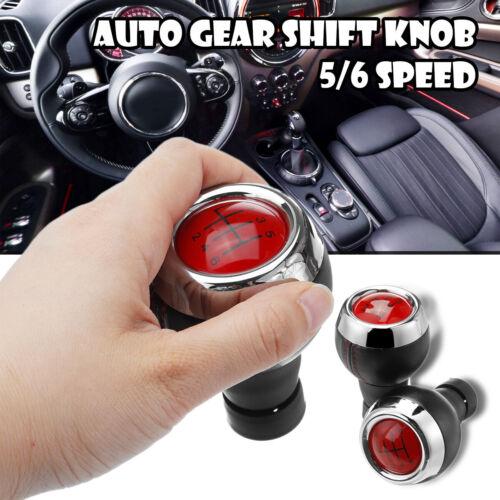 Red Stick 5//6 Speed Gear Shift Knob For MINICOOPERR55R56R57R58R59R60R61