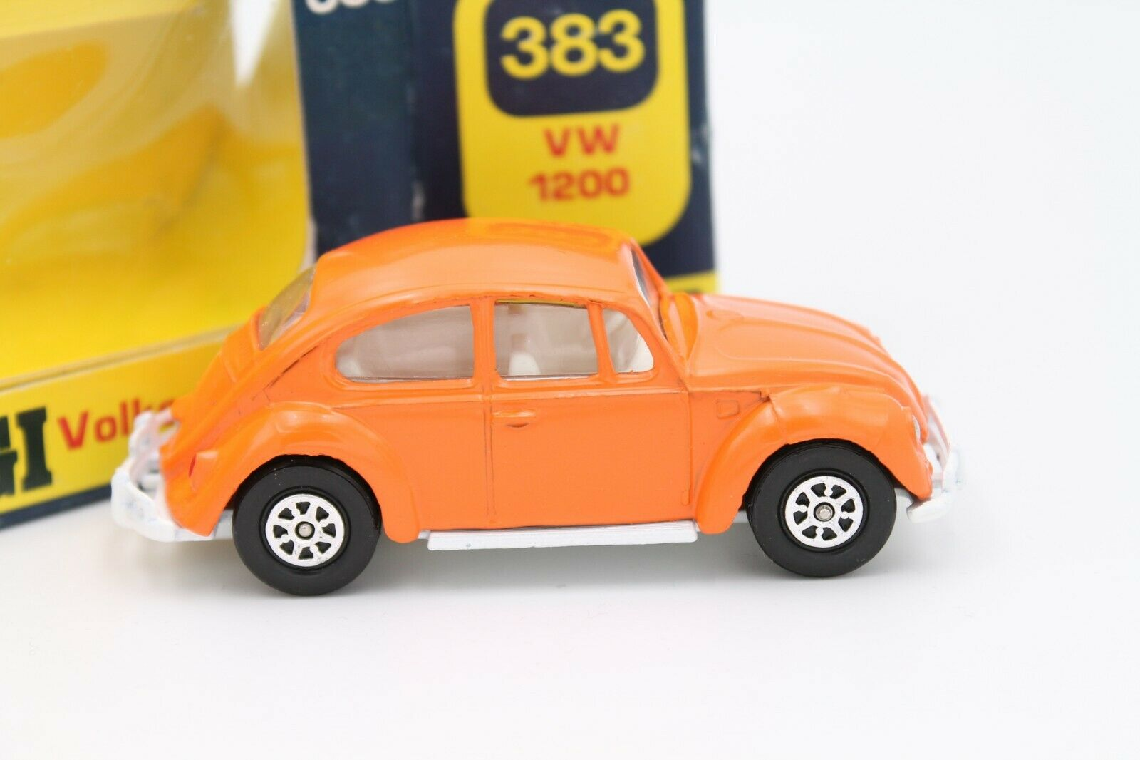CORGI TOYS  Volkswagen (VW) 1200 MAGGIOLINO  arancia  1 43  OVP  TOP
