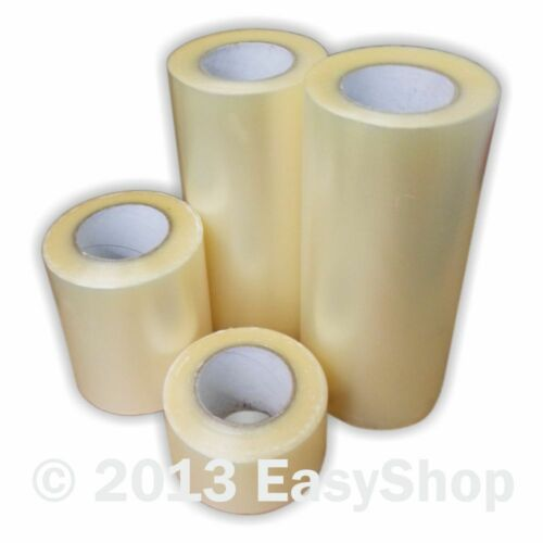 Sign Making Clear Vinyl Application Tape 75mm x 91 metres Ritrama CF300 Roll