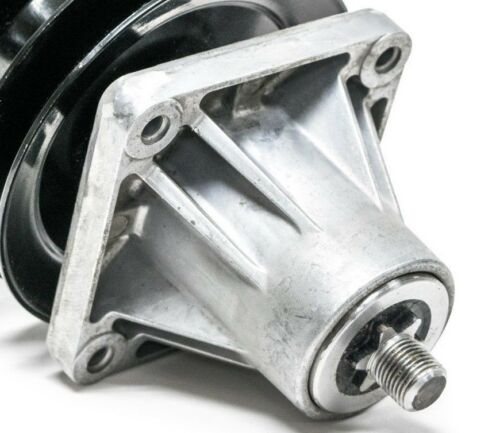 Replaces MTD Spindle 618-0596 918-0594 With Double Pulley 618-0594 918-0596