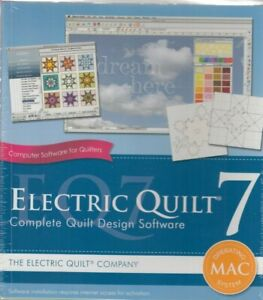 Eq7 Electric Quilt 7 Complete Design Software For Mac Operating System Ebay