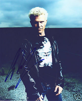 BILLY IDOL AUTOGRAPH SIGNED PP PHOTO POSTER