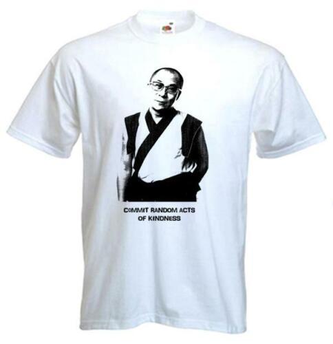 Dalaï-Lama T-Shirt-Tibet bouddhisme bouddhiste tibétain-Choix de couleurs S-3XL
