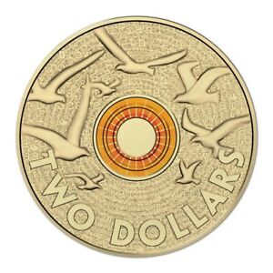 2015 ORANGE Remembrance Day Coin $2 Two Dollar Australian