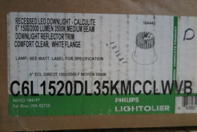 Philips Lightolier C6L20835MZ10U Recessed LED Downlight