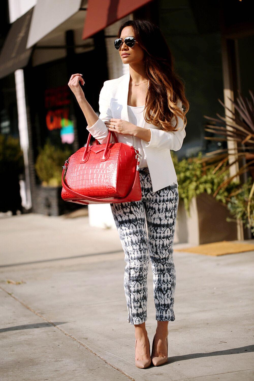 ISABEL MARANT für H&M - Jeans - weiß   ethnisch - Größe 34 fr