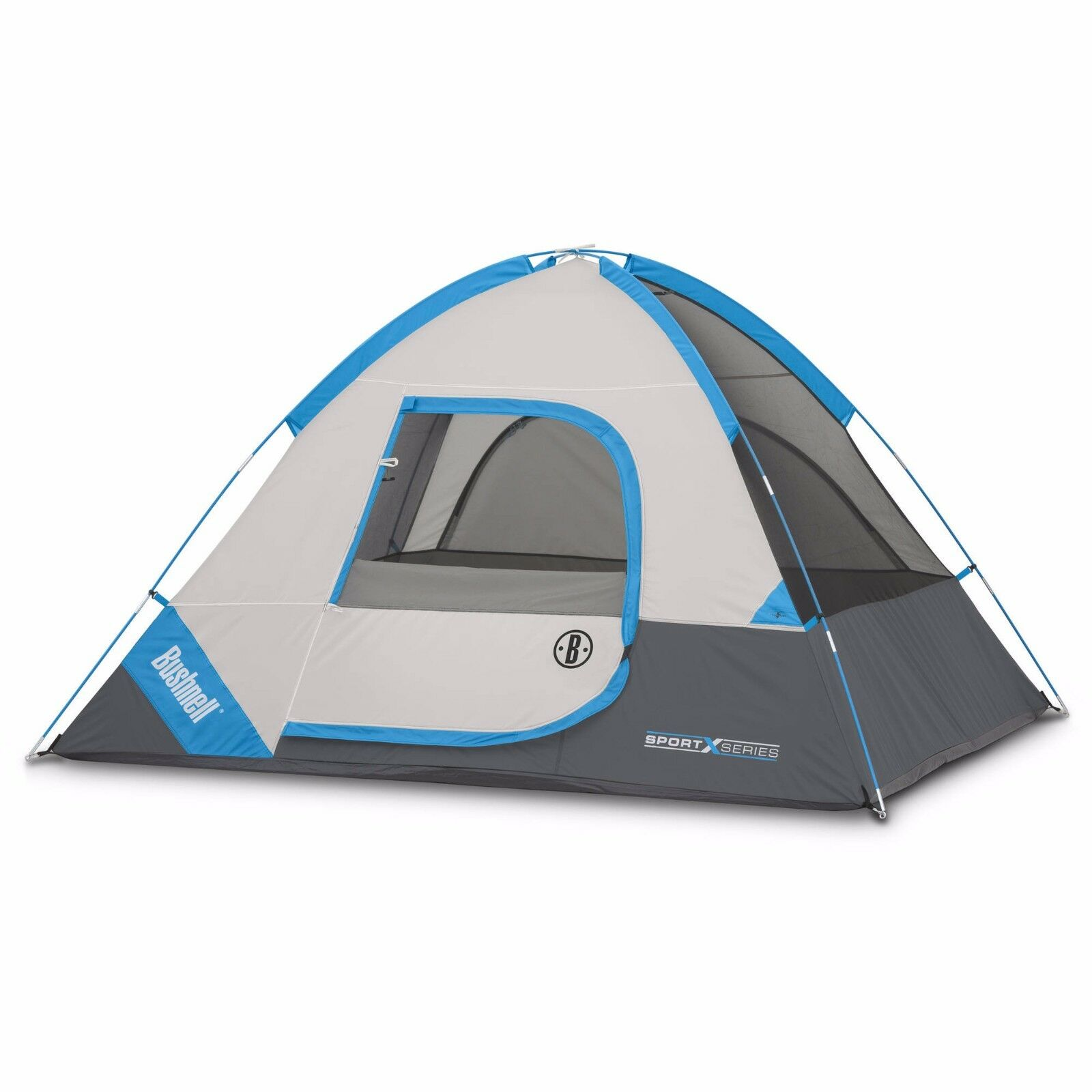 Bushnell sleeps 4 tent Sport Series 8' x 7' Dome adjustable ground vent camping