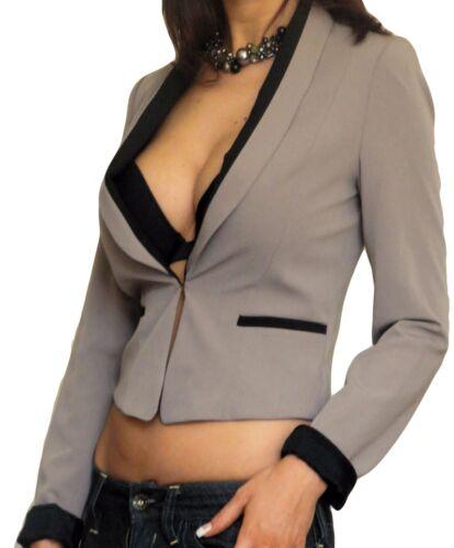 Blazer Donna Giacca Su Misura Smart taglia 8 10 12 14 16 18