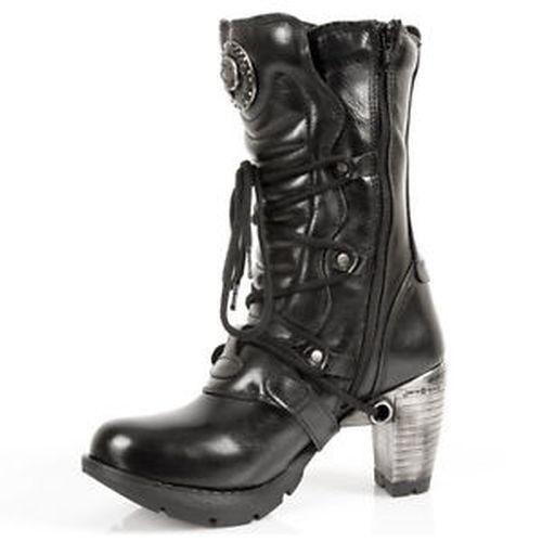 Gothique Bottes New Boots Femmes Chaussures Rock R7pnwEzq
