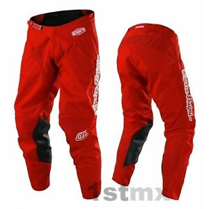 Troy Lee Designs Tld Motocross Mono Gp Rojo Ninos Offroad Carrera Pantalones Juventud 22 Ebay