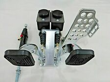 Jamar Dune Buggy Sand Rail Pedal Assembly With Slave Chrome Aluminum Pro X Pedals