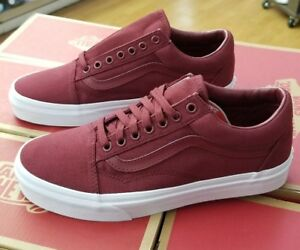 3ec6a88e79f VANS OLD SKOOL MONO CANVAS CABERNET VN0A38G1QDD MEN SZ 4.5 (WOMEN 6 ...