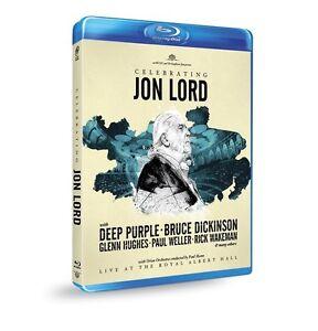 Jon-DEEP-PURPLE-amp-Friends-Lord-festeggiare-Jon-Lord-BLU-RAY-NUOVO