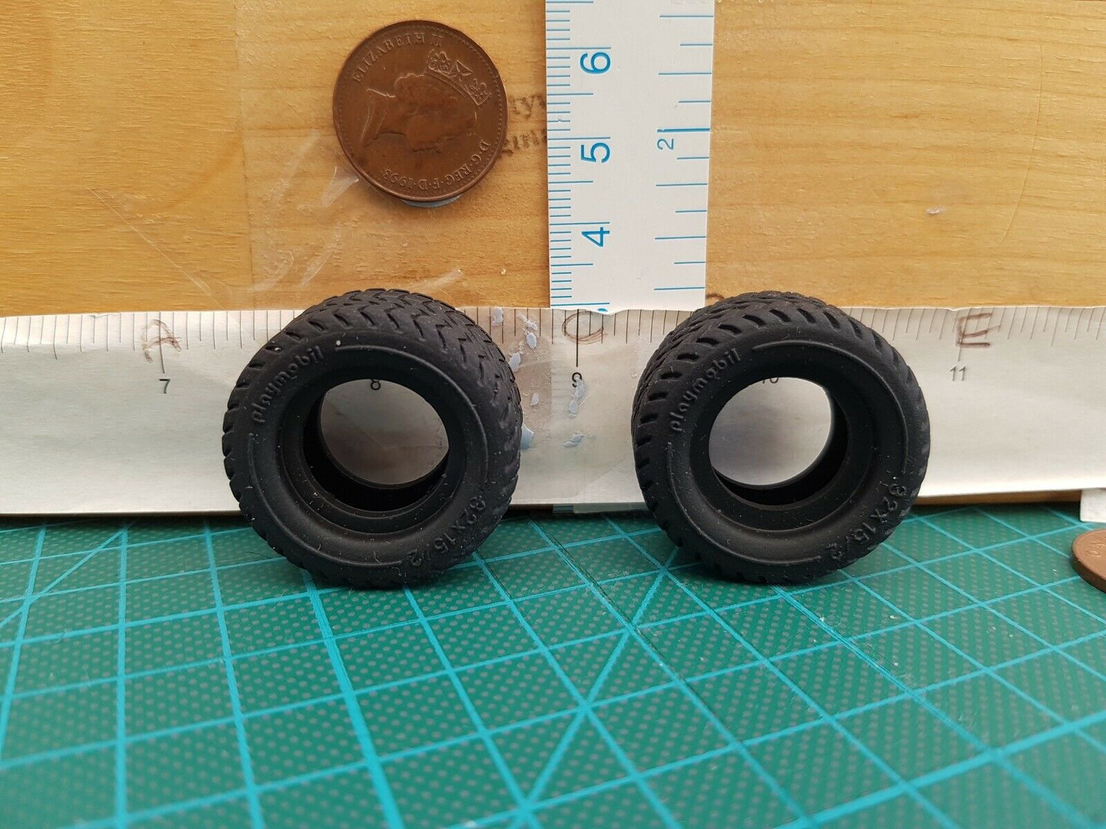 Playmobil New Spares Two Cables for Flatbed Truck 3935 end-gate