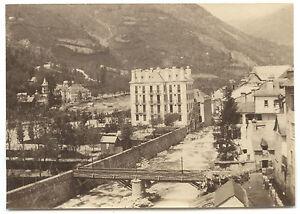 France à Identifier Vintage Albumine Ca 1875 Petit Format 6x8,7cm Belle En Couleur
