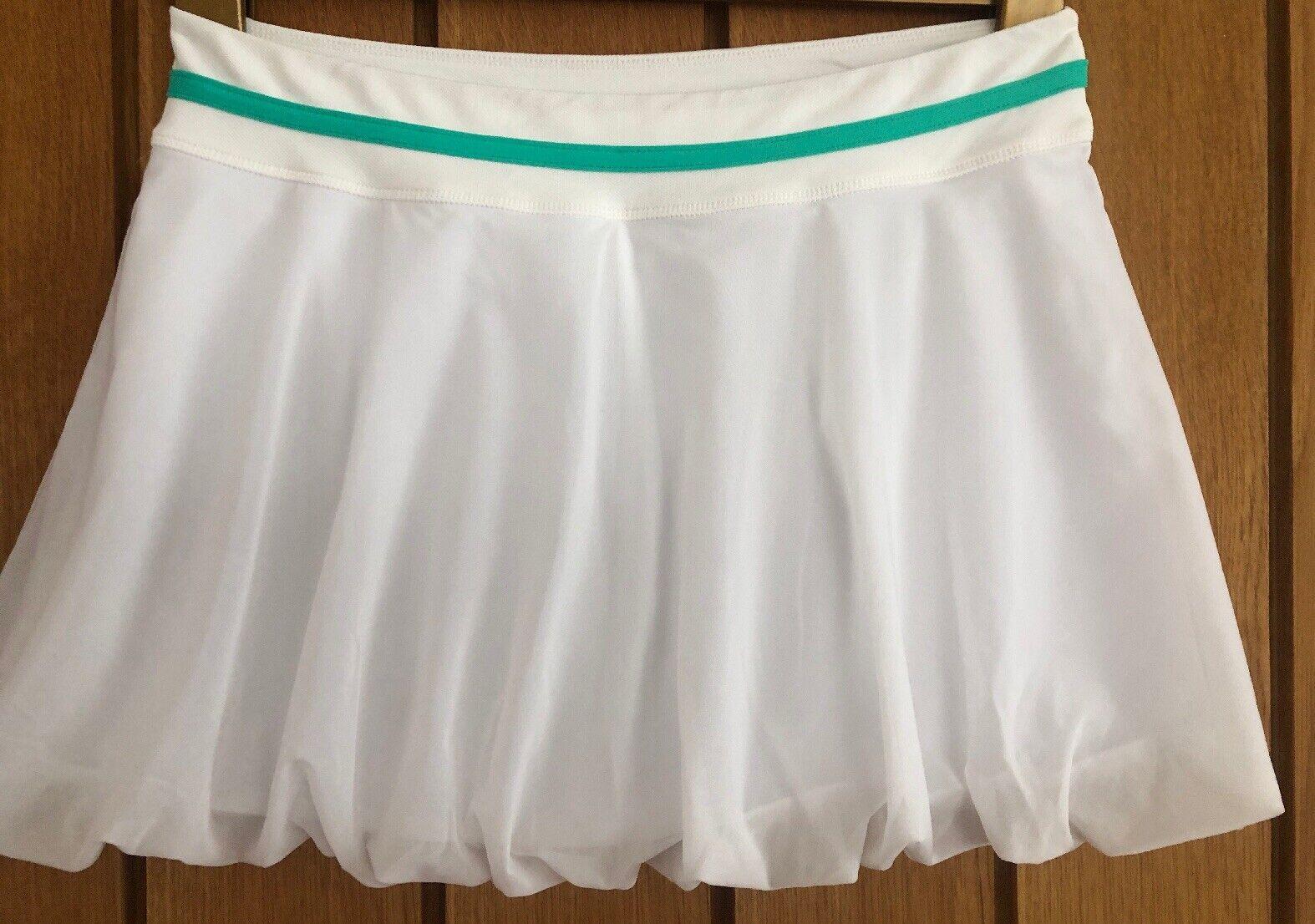 BNWT- SWEATY BETTY White 'Match Play' Tennis Skort. Size Small. RRP