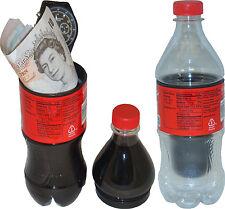 HIDDEN STASH SAFE DIVERSION CONTAINER IN SMALL SOFT DRINK BOTTLE -3 PIECE DESIGN