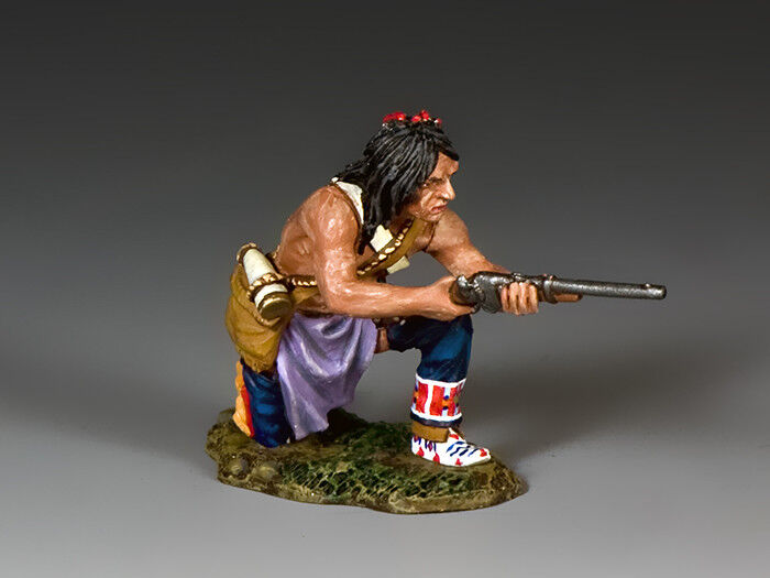King and Country Kneeling Plains Indian w Carbine TRW131