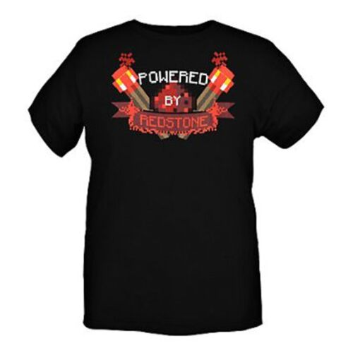 Minecraft Powered By Redstone Youth T-Shirt