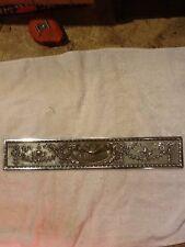 Antique Brass National Cash Register Nickel Drawer Front 300 Class NCR